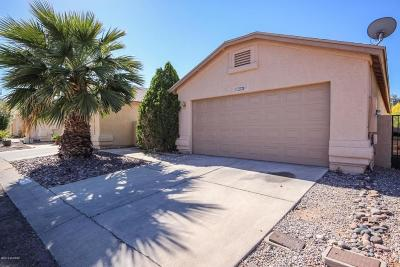 Tucson Single Family Home For Sale: 3391 W Millwheel Lane