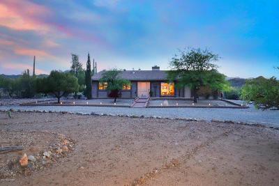Tucson Single Family Home Active Contingent: 5691 W El Camino Del Cerro