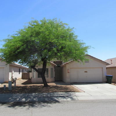 Tucson Single Family Home For Sale: 2647 W Mountain Heights Court