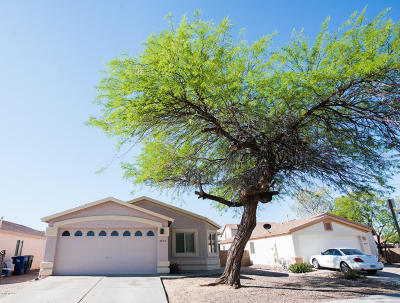Tucson Single Family Home For Sale: 7626 S Athel Tree Drive