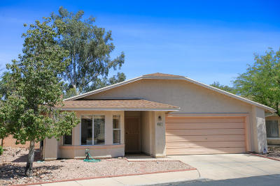 Tucson Single Family Home For Sale: 8071 E Calle De Camacho