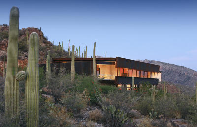 Tucson Single Family Home Active Contingent: 6620 N Eagle Ridge Drive