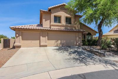 Oro Valley Single Family Home Active Contingent: 11167 N Divot Drive