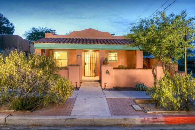 Tucson Single Family Home Active Contingent: 922 N Plumer Avenue