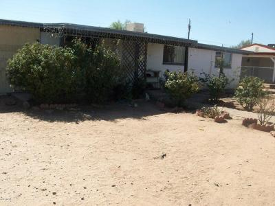 Tucson AZ Single Family Home For Sale: $82,500