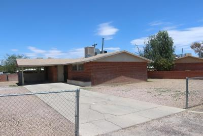 Tucson Single Family Home For Sale: 1918 W Spring Street