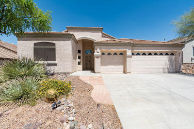 Marana Single Family Home For Sale: 5358 W Calico Cactus Court
