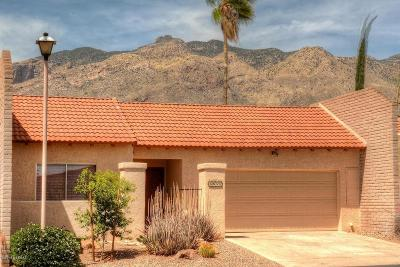 Tucson Townhouse Active Contingent: 4655 E Camino Rosa