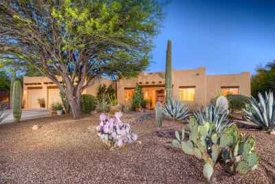 Tucson Single Family Home Active Contingent: 4393 W Olivette Mine Place
