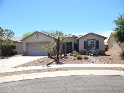 Tucson Single Family Home Active Contingent: 7745 W Candlecreek Road