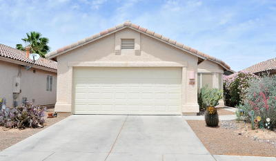 Tucson AZ Single Family Home Active Contingent: $195,000