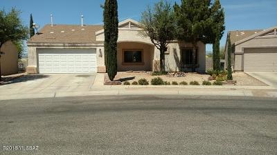 Tucson Single Family Home Active Contingent: 2850 S Beck Drive