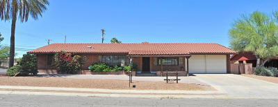 Tucson AZ Single Family Home For Sale: $309,900