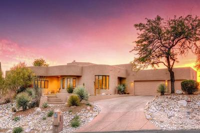 Tucson Single Family Home Active Contingent: 3931 N River Heights Place