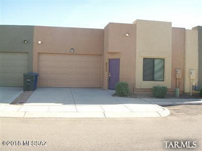 Pima County Townhouse For Sale: 7214 E Chelsie Kaye Lane