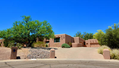 Tucson Single Family Home For Sale: 3891 N Crestwood Place