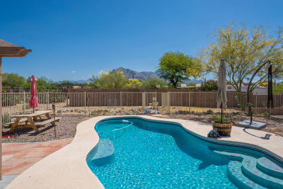 Tucson Single Family Home Active Contingent: 1330 W Liddell Place