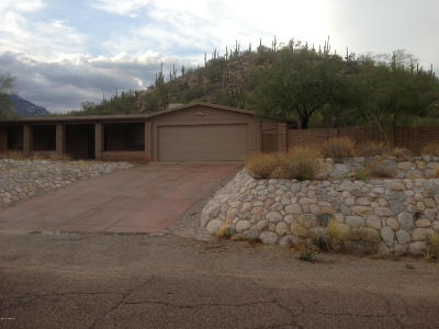 Tucson Rental For Rent: 7201 E Rocky Ridge Dr.