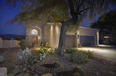 Oro Valley Single Family Home Active Contingent: 12500 N Lantern Way