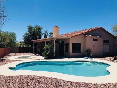 Tucson Single Family Home For Sale: 7391 E Damasco Place