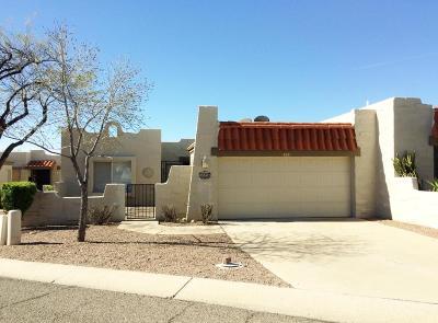 Tucson Townhouse For Sale: 4591 N Mountain Quail Road
