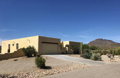 Pima County Single Family Home For Sale: 7862 W Chuckwalla Place