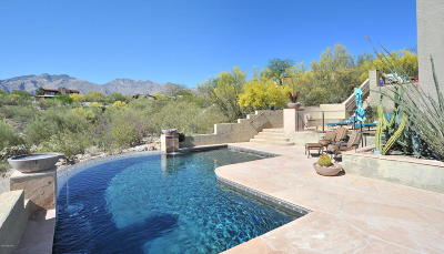 Tucson Single Family Home Active Contingent: 5875 E Calle Val