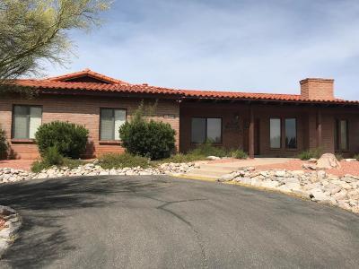 Tucson Single Family Home Active Contingent: 5749 E Paseo Cimarron