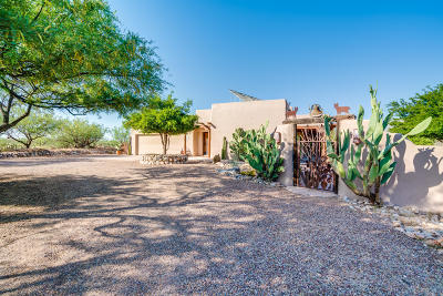 Tucson Single Family Home For Sale: 13870 N Sutherland Trail