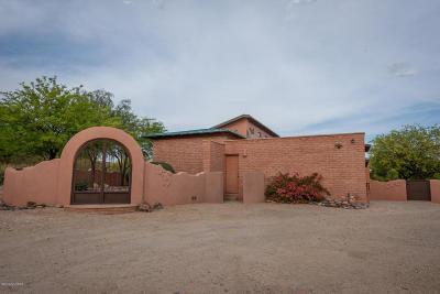 Tucson Single Family Home Active Contingent: 11701 E Spanish Ridge Place