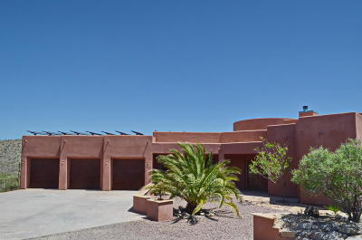Pima County Single Family Home For Sale: 3835 W Coyote Ridge Trail