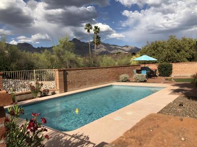 Tucson Single Family Home Active Contingent: 707 E Chula Vista Road