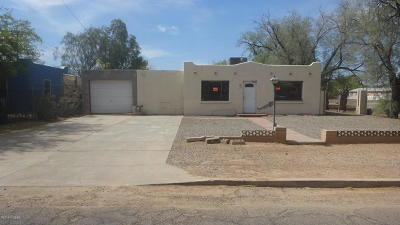 Tucson Single Family Home Active Contingent: 450 E Mohave Road
