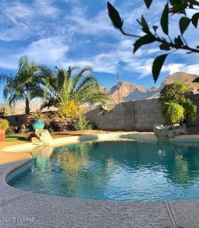 Oro Valley Single Family Home For Sale: 725 W Placita Vega Vista