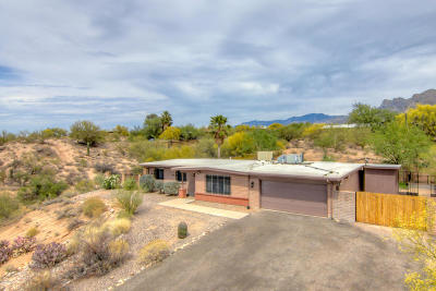 Tucson Single Family Home Active Contingent: 1620 W Jagged Rock Road