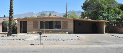 Tucson Single Family Home Active Contingent: 5555 E Fairmount Street
