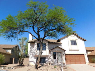 Tucson Single Family Home For Sale: 9870 N Camino Del Sauce