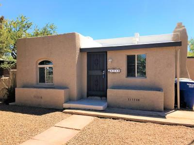 Tucson Single Family Home Active Contingent: 3338 N Geronimo Avenue