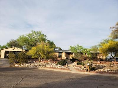 Tucson Single Family Home Active Contingent: 5247 N Whispering Hills Lane