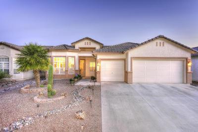 Tucson Single Family Home Active Contingent: 7813 W Palladin Road
