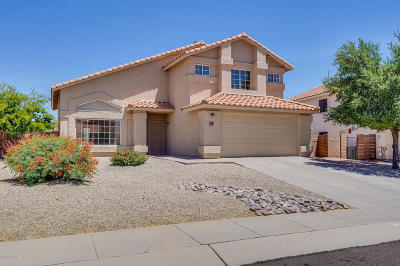 Oro Valley Single Family Home Active Contingent: 670 W Calle Alta Loma