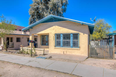 Tucson Single Family Home For Sale: 1129 N Tyndall Avenue