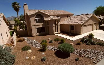Tucson Single Family Home Active Contingent: 1962 W Desert Highlands Drive
