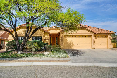 Tucson Single Family Home Active Contingent: 7534 E Camino Amistoso