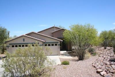 Tucson Single Family Home Active Contingent: 4076 W Granite Dells Court
