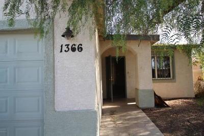 Catalina, Corona De Tucson, Green Valley, Marana, Oro Valley, Sahuarita, South Tucson, Tucson, Vail Single Family Home Active Contingent: 1366 E Milton Road