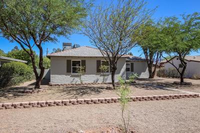 Tucson Single Family Home Active Contingent: 3925 E Justin Lane
