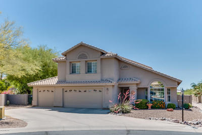 Tucson Single Family Home Active Contingent: 1719 W Wimbledon Way
