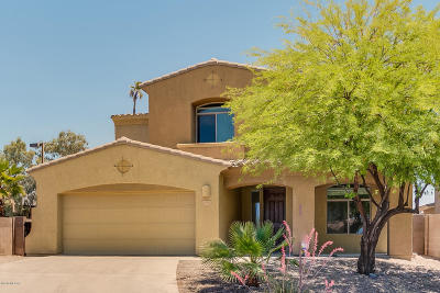 Tucson Single Family Home Active Contingent: 6196 N Corte San Bella