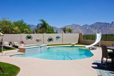 Oro Valley Single Family Home Active Contingent: 549 W Sunview Drive